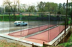 sporting goods, tennis nets, batting cage nets, soccer goals, batting cages